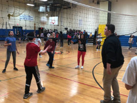 Student/Staff Volleyball Game